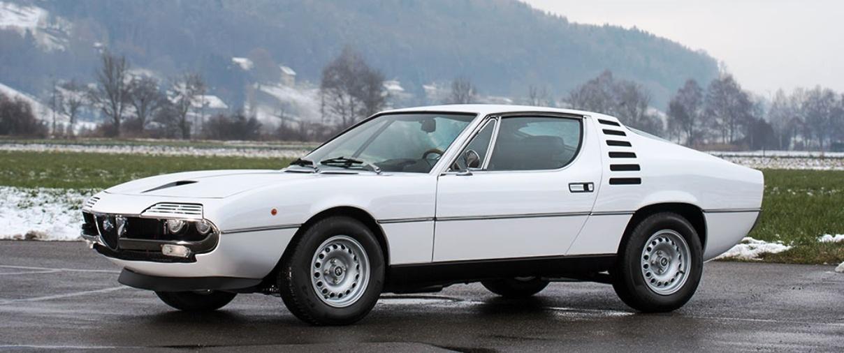 Raro Alfa Romeo Montreal vai a leilão