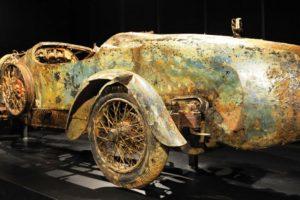 A história incrível do Bugatti que esteve 73 anos no fundo de um lago