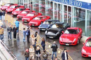 Retro Galicia celebra em grande o 70º aniversário da Ferrari