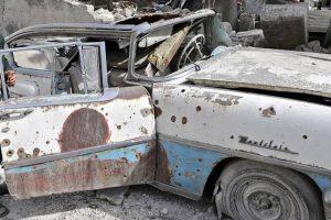 Guerra na Síria destrói colecção de 30 clássicos