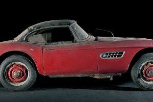 O minucioso restauro do BMW 507 de Elvis Presley