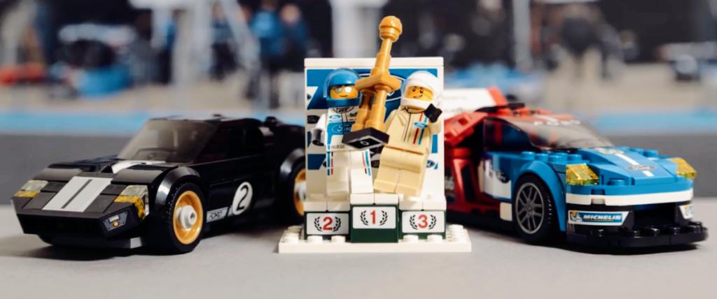 Lego recria vitórias da Ford em provas da Le Mans