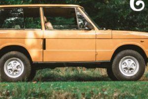 Este Range Rover de duas portas é uma delícia sobre rodas