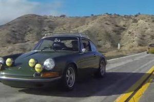 Porsche 911 de 1970 nas montanhas da Califórnia, uma combinação perfeita