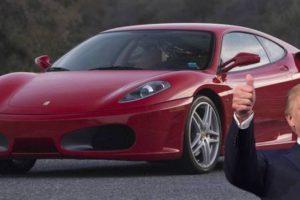 Venda de Ferrari de Trump ficou abaixo das expectativas