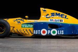 Fórmula 1 de Nelson Piquet vai a leilão