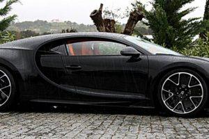 Bugatti Chiron, chuva e um milionário português...