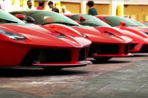 Celebrações dos 70 anos da Ferrari no Qatar