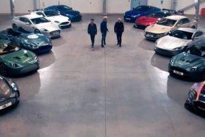€77 milhões de Aston Martin lançados à loucura