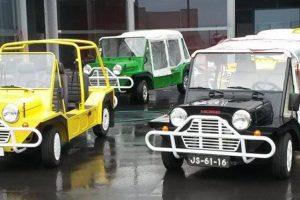Jim Lambert, o pai do Mini Moke português
