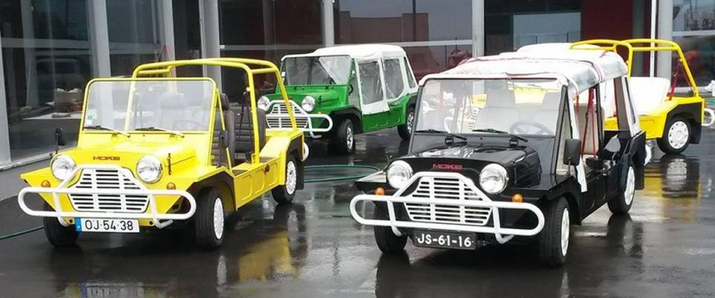 Jim Lambert, o pai do Mini Moke português