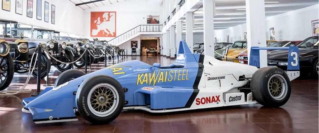 Fórmula 3 de Michael Schumacher em exposição no Museu do Caramulo