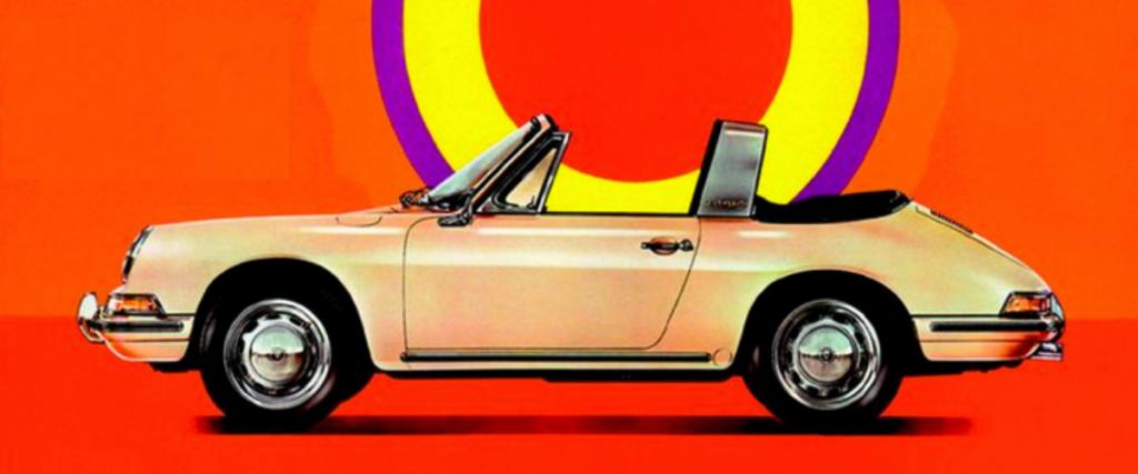 17 posters vintage da Porsche que valem a pena conhecer