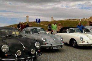 Porsches 356 conheceram Elvas e o Forte da Graça