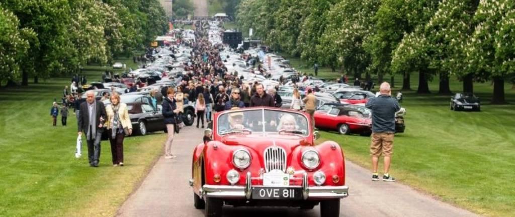 Festival com 1.200 clássicos da Jaguar na Inglaterra