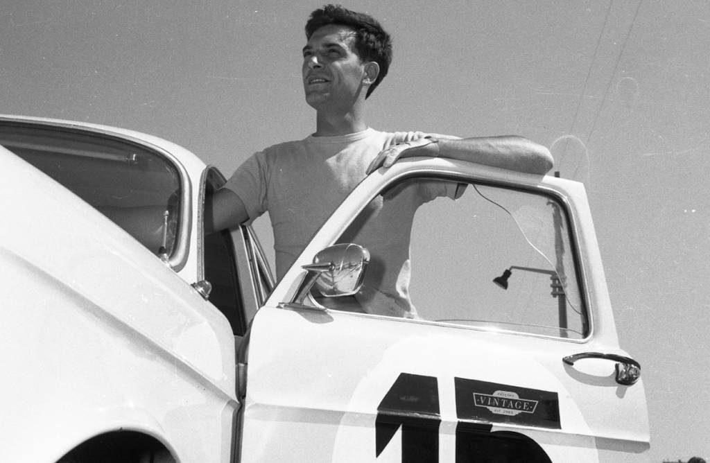 Em Monsanto, 1959, Andrade Vilar dominou a corrida de carros de Turismo, com um Giulietta Berlina