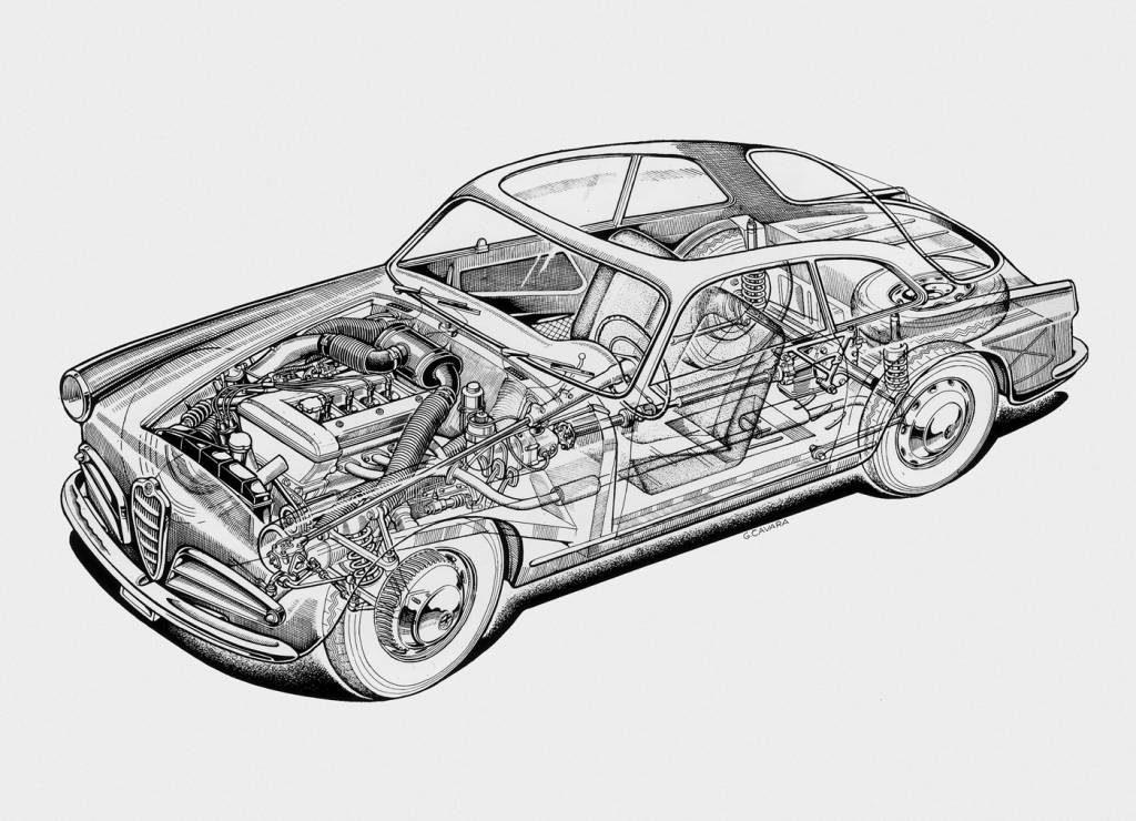 Desenhado por Bertone, o Giulietta Sprint é um dos mais belos desportivos dos anos 50