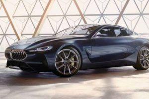 Novo BMW Série 8 Concept: dinâmica e luxo num coupé desportivo
