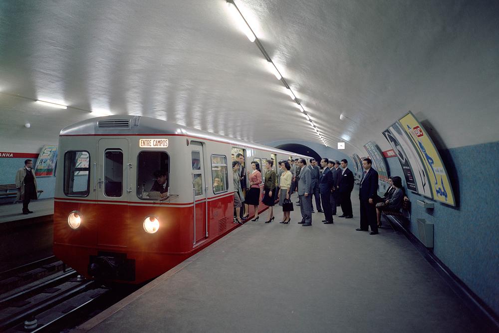 Estação de Metro do Saldanha
