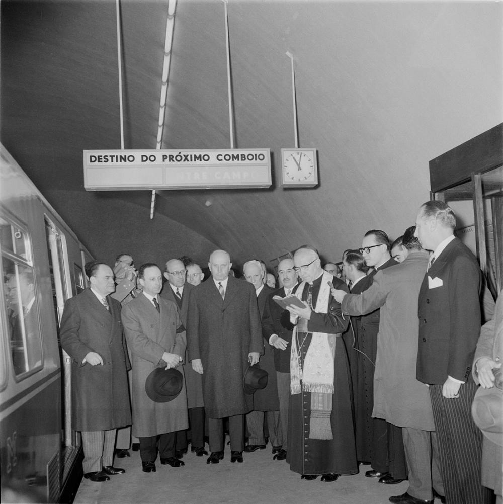Inauguração do Metro