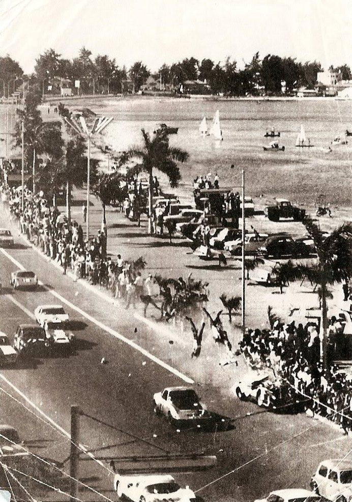 Imagem do acidente em Luanda