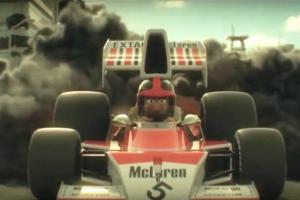 A história de Emerson Fittipaldi em desenhos animados