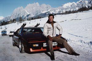 Os automóveis de Roger Moore na pele de James Bond