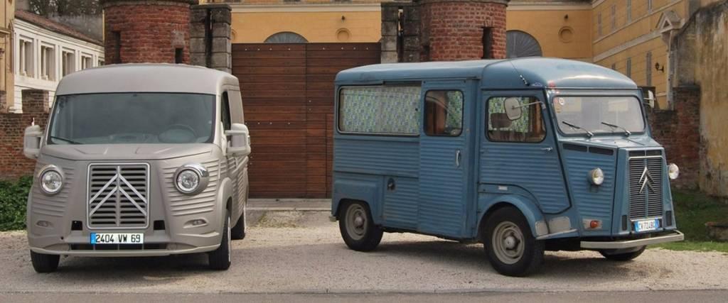 A icónica Citroën HY está de volta