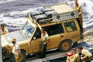 Documentário sobre a história da Land Rover no Troféu Camel
