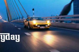 Conduzir um Ferrari 308 GTB pelas ruas de Bangkok