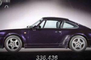 1 milhão de Porsches 911 em apenas 1 minuto