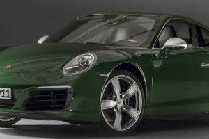Porsche 911 atinge a marca histórica de 1 milhão de unidades produzidas