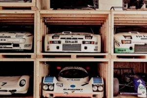 Dentro do armazém mais exclusivo da Porsche