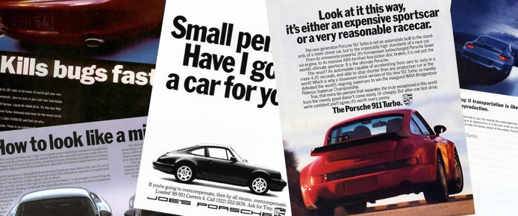 Os melhores anúncios (com humor) da Porsche
