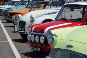 Automóveis antigos passearam pelo concelho de Montemor-o-Velho