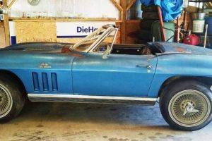 Um grande projecto com este Corvette de 1966