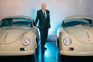 Hans-Peter Porsche esteve em Portugal