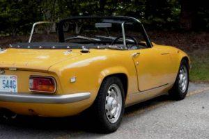 À descoberta do Lotus Elan de 1969
