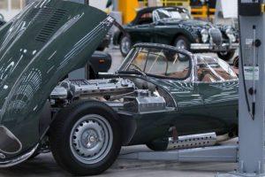 Abriu a Classic Works em Coventry para clássicos da Jaguar e Land Rover