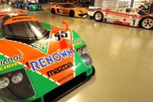 Dentro do incrível Museu das 24h de Le Mans
