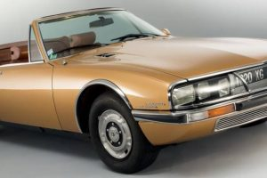 Citroën SM: 5 inovações que estavam à frente do seu tempo