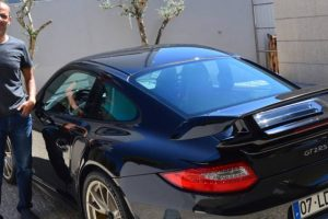 Eu e o meu Porsche 911 '997' GT2 RS