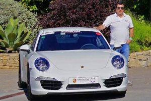 Eu e o meu Porsche 911 '991' Carrera S