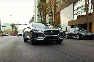 O silêncio com o Jaguar I-PACE Concept