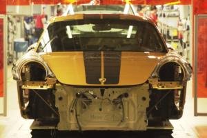O processo de produção do 911 Turbo S Exclusive Series