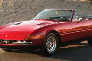 O Ferrari Daytona Spider que esteve desaparecido durante 20 anos