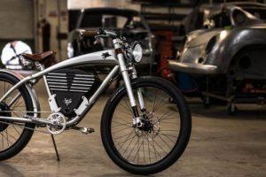 Outlaw Tracker, a bicicleta eléctrica inspirada no Porsche 356