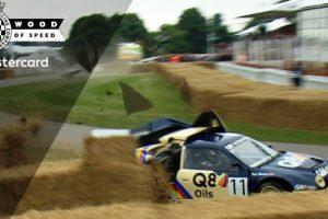 O despiste do Ford RS200 no Goodwood