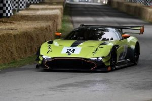 Aston Martin no Goodwood Festival of Speed 2017