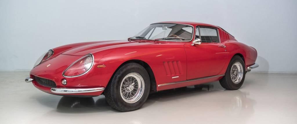 Protótipo do Ferrari 275 GTB/4 de 1966 vai a leilão